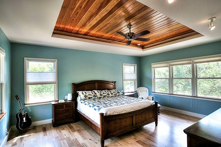 advantages and disadvantages of a tray ceiling