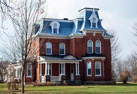 elegant mansard roof design