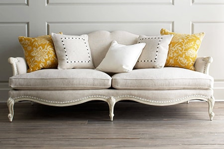 cabriole couch is one of those sofa styles you see in sophisticated houses