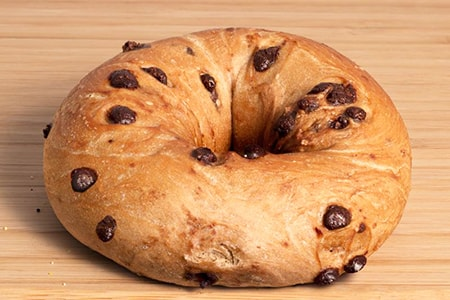 chocolate chip bagel is a must in any list of bagels