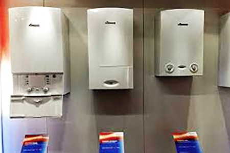 condensing types of water heaters