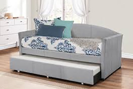 daybed styles of couches are designed for people to take naps on and often have a second bed or drawers underneath it