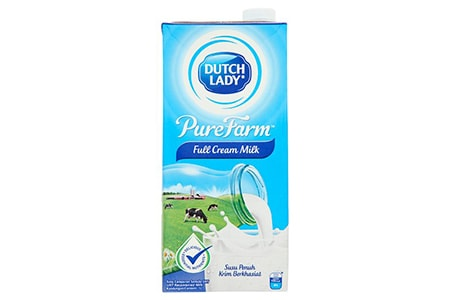 full cream milk is one of the different types of milk that mix both cow and buffalo milk and contains the cream layer