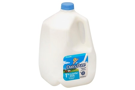 low fat milk is probably the second most popular of the milk types due to the reduced fat content