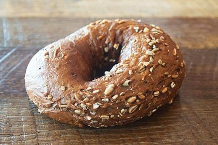 pumpernickle bagel