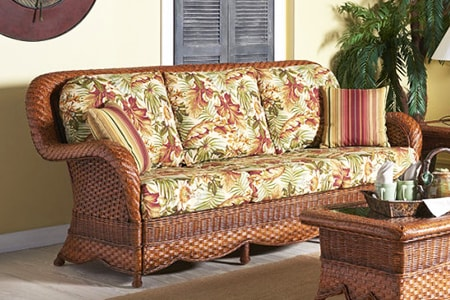 rattan couch styles are sometimes called wicker couches as they use braided wood and are usually placed outdoors