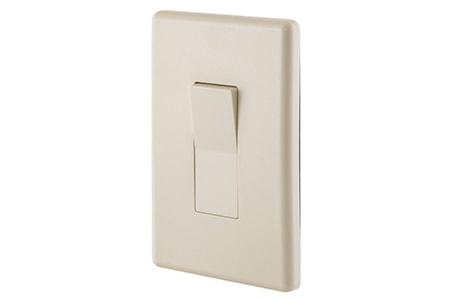 the rocker light switch are probably the easiest to use light switch types available