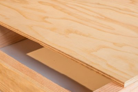 softwood plywood is among the most common plywood types for flooring, framing, and roofing