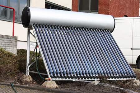 solar powered types of hot water heaters