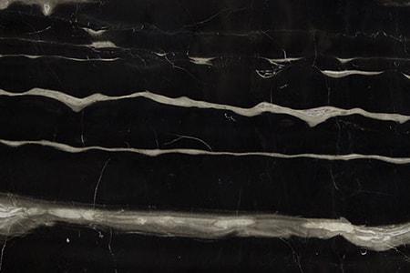 black dune marble
