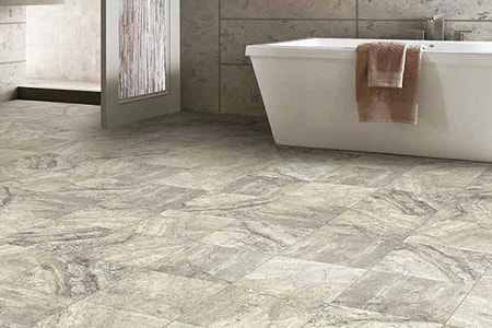 porcelain tiles are also common types of tile flooring