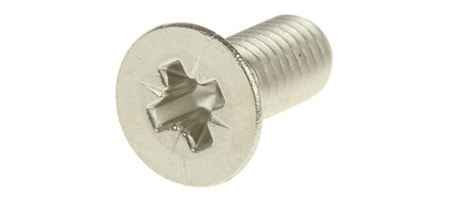 pozidriv screw head shapes are like those of phillips