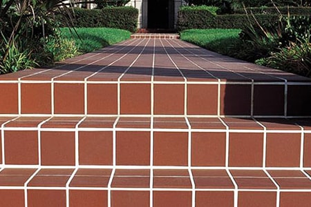 quarry tiles look like terracotta but are much stronger
