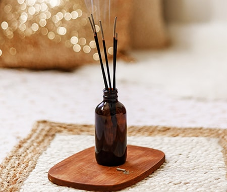 incense can create a much sweeter and stronger smell as a candle alternative