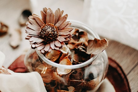 potpourri are perfect alternatives to candles in that they emit a long lasting scent