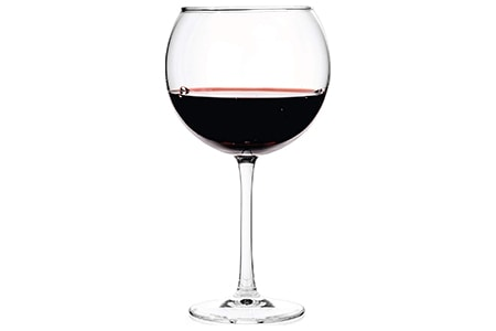 balloon wine glass is the widest and most voluminous of the wine glass styles