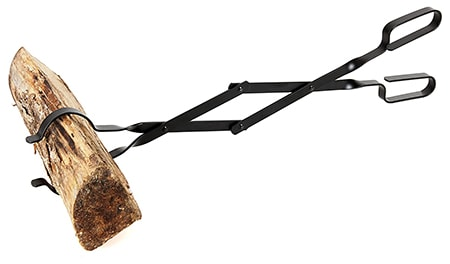 campfire tongs are an essential item among the fire pit tools and accessories to keep away from the flame as you add more logs