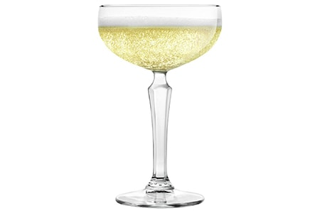 coupe wine glass are wide and short types of wine glasses that have a low center of gravity and are less likely to spill