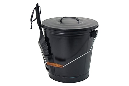 fire pit ash bucket for campfires