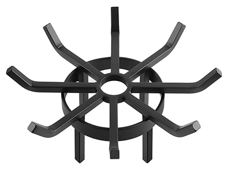 a fire pit log grate is a great fire pit accessory that helps keep the air flow under the logs and helps with starting the fire too