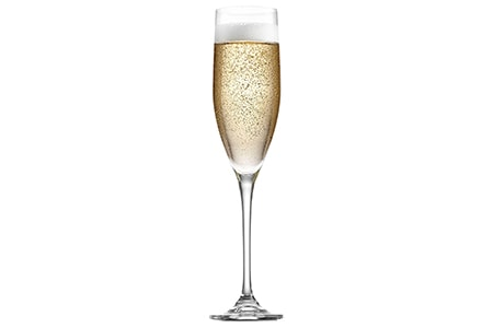 flute wine glass are the most visually different wine glasses that are tall and elongated