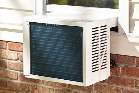hybrid dual fuel air conditioner