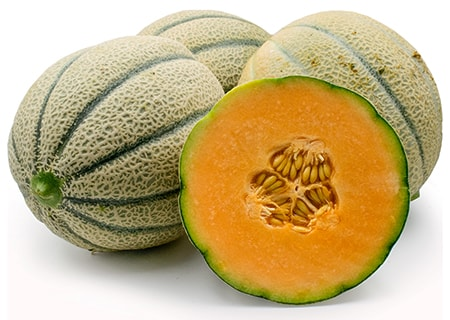 north american cantaloupe varieties are delicious, soft, and juicy