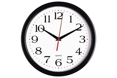 quartz clock are some of the most common kinds of clocks because they're reliable and cheap to make