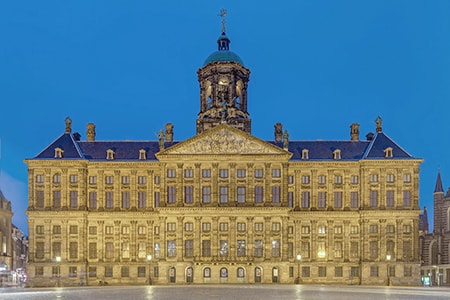 royal palaces are castles but are simply ornate and meant to house royalty in the present day