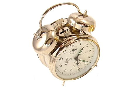 spring driven wound clock are fun clock styles that let you interact with it by winding a spring mechanism but have fallen out of favor because they aren't incredibly accurate