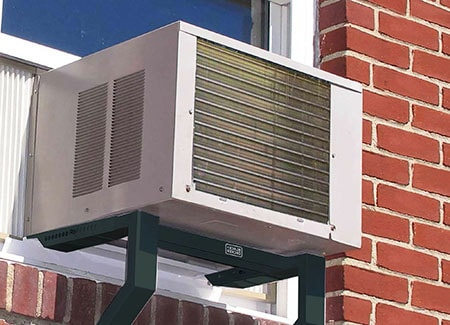 window air conditioner are the types of air conditioners you see in big cities in older buildings where they have condensation dripping everywhere into alleys